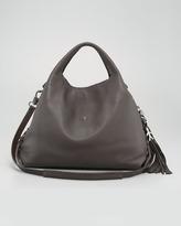 Henry Beguelin Cervo Leather Hobo Bag, Large