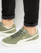 Puma Dallas OG Sneakers In Green 36222110