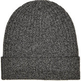 Barneys New York MEN'S RIBBED WOOL BEANIE
