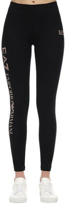 EA7 Emporio Armani Train Logo Series Cotton Leggings