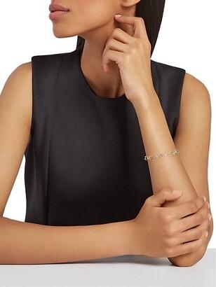 Gas Bijoux Gipsette 24K Goldplated Beaded Charm Bracelet