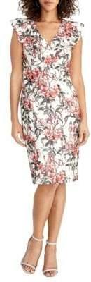 Rachel Roy Lydia Floral Lace Sheath Dress