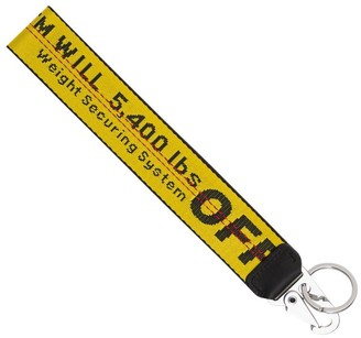 Off-White Industrial Logo Key Ring