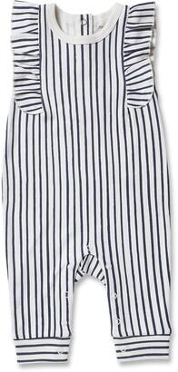 Pehr Stripes Away Ruffle Romper