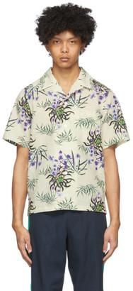 Kenzo Off-White Sea Lily Shirt