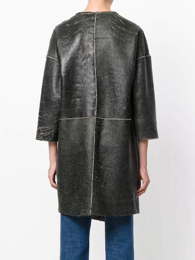 Giorgio Brato reversible fur lined coat