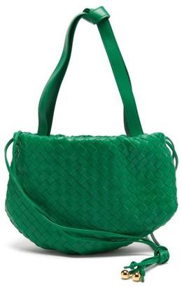 Bottega Veneta The Bulb Small Intrecciato Leather Cross-body Bag - Green
