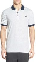 Bench Men's 'Parter' Stripe Jersey Polo
