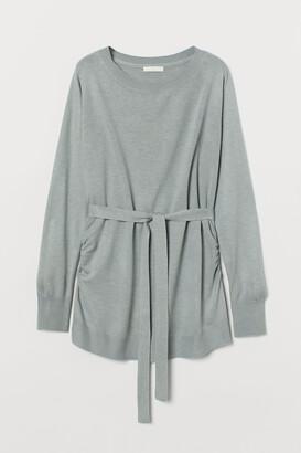 H&M MAMA Fine-knit Sweater