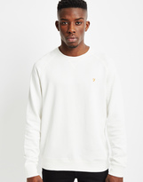 Farah Audley Sweatshirt White