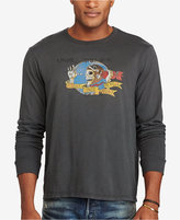 Polo Ralph Lauren Men's Big & Tall Graphic-Print Long-Sleeve T-Shirt