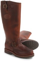 """Chippewa Moc-Toe Snake Boots - Leather, 17"""" (For Men)"""