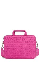 Marc Jacobs Logo Neoprene 13-Inch Computer Commuter Case - Pink