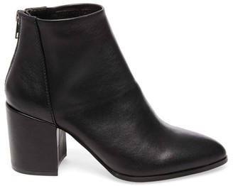 Steve Madden Jillian Black Leather