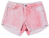 Tractr Girl's Raw Edge Shorts