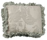 Austin Horn Collection Cascata Jacquard Ruffle Oblong Throw Pillow