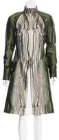 Todd Lynn Jacquard Long Coat
