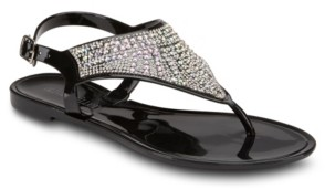 OLIVIA MILLER All The Feelz Jelly Sandals Women's Shoes