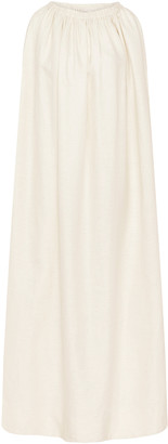 Matteau Cocoon Linen and Cotton-Blend Midi Dress