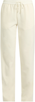Elizabeth and James Collier mid-rise straight-leg twill trousers