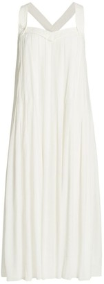 Rag & Bone Sabine Pleated Midi Dress