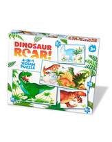 Fashion World Dinosaur Roar 4 in 1 Jigsaw Puzzle
