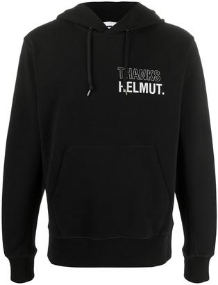 Helmut Lang Logo-Print Hoodie