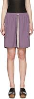 Rick Owens Purple Boxer Shorts