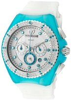 Technomarine Women's 'Cruise' Quartz Stainless Steel and Silicone Casual Watch, Color:White (Model: TM-109017)