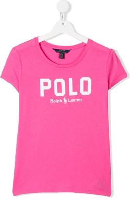 Ralph Lauren Kids TEEN logo print T-shirt