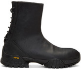 Alyx Ssense Exclusive Black Cut Back Hiking Boots