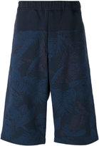 Oamc printed bermuda shorts - men - Cotton/Polyamide/Spandex/Elastane/Viscose - S