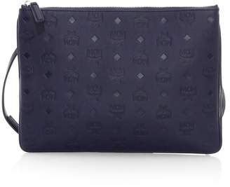 MCM Klara Monogram Leather Crossbody Bag