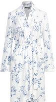 Ralph Lauren Floral-Print Interlock Robe