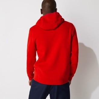 Lacoste Mens SPORT Full-Zip Fleece Hoodie