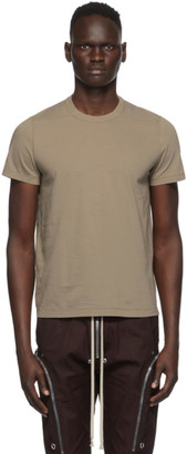 Rick Owens Brown Small Level T-Shirt