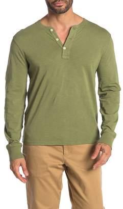J.Crew J. Crew Garment Dye Long Sleeve Henley