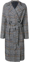 Tagliatore dogtooth double breasted coat