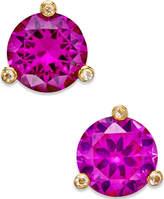 Kate Spade Gold-Tone Mini Round Stud Earrings