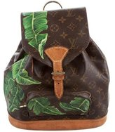 Louis Vuitton Monogram Montsouris Backpack PM
