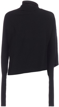Marques Almeida Asymmetric Draped Jumper