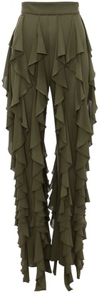 J.W.Anderson Ruffle-Detail Trousers