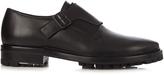 Lanvin Monk-strap leather shoes