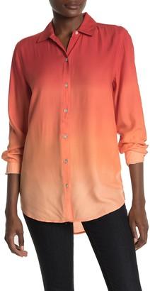 BeachLunchLounge Chalanna Dip Dye Long Sleeve Shirt