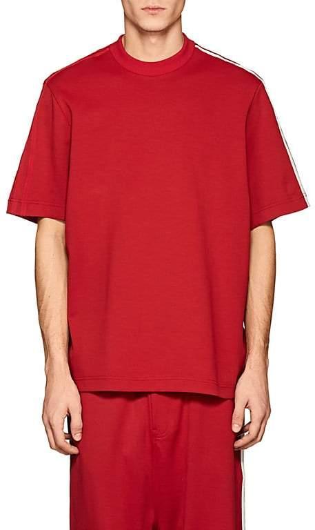 Y-3 Men's Cotton-Blend Tech-Jersey T-Shirt