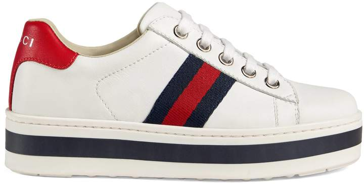 6eb247c9741 Gucci Sneakers For Kids - ShopStyle