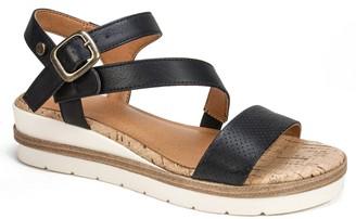 White Mountain Platform Sandals - Nelson