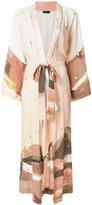 Stine Goya printed belt jacket
