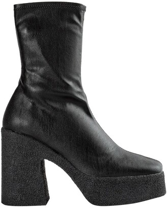Tony Bianco Jude Black Venezia Ankle Boots