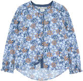 Pepe Jeans Printed viscose blouse